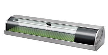 Afbeeldingen van Gram sushivitrine 1500 mm koeling- HNC150BE-R-S